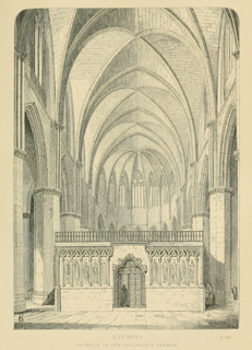 Some account of gothic architecture in Spain 1865 г. Иллюстрация 106. Готическая архитектура, иллюстрации из 16-и книг, часть 3-я. Архитектор Антон Булатецкий