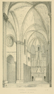 Some account of gothic architecture in Spain 1865 г. Иллюстрация 124. Готическая архитектура, иллюстрации из 16-и книг, часть 3-я. Архитектор Антон Булатецкий