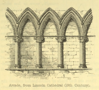 The principles of Gothic ecclesiastical architecture 1859 г. Иллюстрация 6. Готическая архитектура, иллюстрации из 16-и книг, часть 3-я. Архитектор Антон Булатецкий