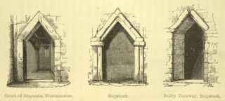 The principles of Gothic ecclesiastical architecture 1859 г. Иллюстрация 23. Готическая архитектура, иллюстрации из 16-и книг, часть 3-я. Архитектор Антон Булатецкий