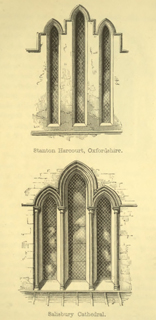 The principles of Gothic ecclesiastical architecture 1859 г. Иллюстрация 76. Готическая архитектура, иллюстрации из 16-и книг, часть 3-я. Архитектор Антон Булатецкий