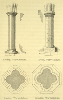 The principles of Gothic ecclesiastical architecture 1859 г. Иллюстрация 91. Готическая архитектура, иллюстрации из 16-и книг, часть 3-я. Архитектор Антон Булатецкий