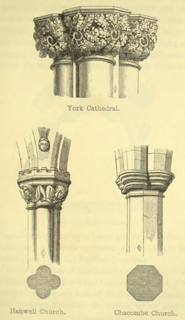 The principles of Gothic ecclesiastical architecture 1859 г. Иллюстрация 93. Готическая архитектура, иллюстрации из 16-и книг, часть 3-я. Архитектор Антон Булатецкий
