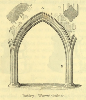 The principles of Gothic ecclesiastical architecture 1859 г. Иллюстрация 94. Готическая архитектура, иллюстрации из 16-и книг, часть 3-я. Архитектор Антон Булатецкий