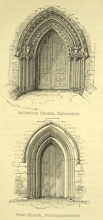 The principles of Gothic ecclesiastical architecture 1859 г. Иллюстрация 98. Готическая архитектура, иллюстрации из 16-и книг, часть 3-я. Архитектор Антон Булатецкий