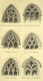 The principles of Gothic ecclesiastical architecture 1859 г. Иллюстрация 101. Готическая архитектура, иллюстрации из 16-и книг, часть 3-я. Архитектор Антон Булатецкий