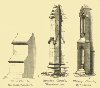 The principles of Gothic ecclesiastical architecture 1859 г. Иллюстрация 111. Готическая архитектура, иллюстрации из 16-и книг, часть 3-я. Архитектор Антон Булатецкий
