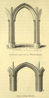 The principles of Gothic ecclesiastical architecture 1859 г. Иллюстрация 120. Готическая архитектура, иллюстрации из 16-и книг, часть 3-я. Архитектор Антон Булатецкий