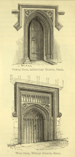 The principles of Gothic ecclesiastical architecture 1859 г. Иллюстрация 124. Готическая архитектура, иллюстрации из 16-и книг, часть 3-я. Архитектор Антон Булатецкий
