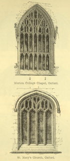 The principles of Gothic ecclesiastical architecture 1859 г. Иллюстрация 126. Готическая архитектура, иллюстрации из 16-и книг, часть 3-я. Архитектор Антон Булатецкий