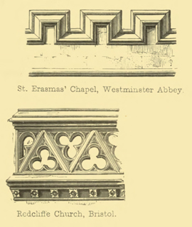 The principles of Gothic ecclesiastical architecture 1859 г. Иллюстрация 131. Готическая архитектура, иллюстрации из 16-и книг, часть 3-я. Архитектор Антон Булатецкий