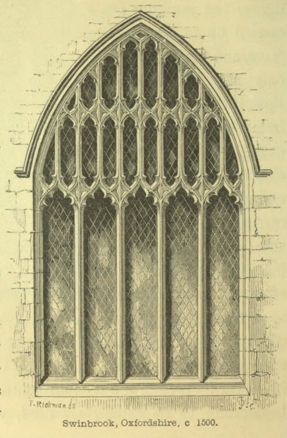 An introduction to the study of Gothic architecture 1849 г. Иллюстрация 87. Готическая архитектура, иллюстрации из 16-и книг, часть 3-я. Архитектор Антон Булатецкий