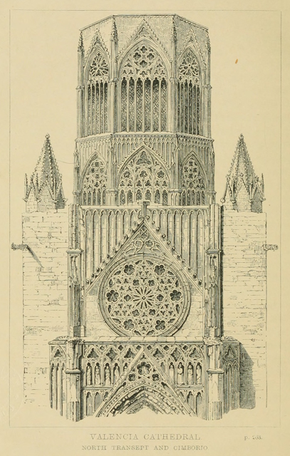 Some account of gothic architecture in Spain 1865 г. Иллюстрация 79. Готическая архитектура, иллюстрации из 16-и книг, часть 3-я. Архитектор Антон Булатецкий
