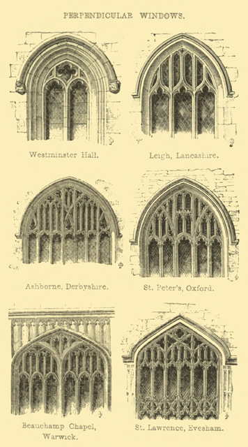 The principles of Gothic ecclesiastical architecture 1859 г. Иллюстрация 127. Готическая архитектура, иллюстрации из 16-и книг, часть 3-я. Архитектор Антон Булатецкий