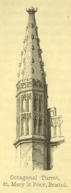 The principles of Gothic ecclesiastical architecture 1859 г. Иллюстрация 135. Готическая архитектура, иллюстрации из 16-и книг, часть 3-я. Архитектор Антон Булатецкий
