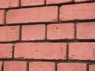 Кирпичная кладка с заглубленным швом, Фактуры кирпичных стен, фотографии. Архитектор Антон Булатецкий