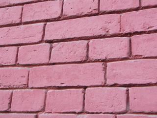 Покрашенная кирпичная стена, Фактуры кирпичных стен, фотографии. Архитектор Антон Булатецкий