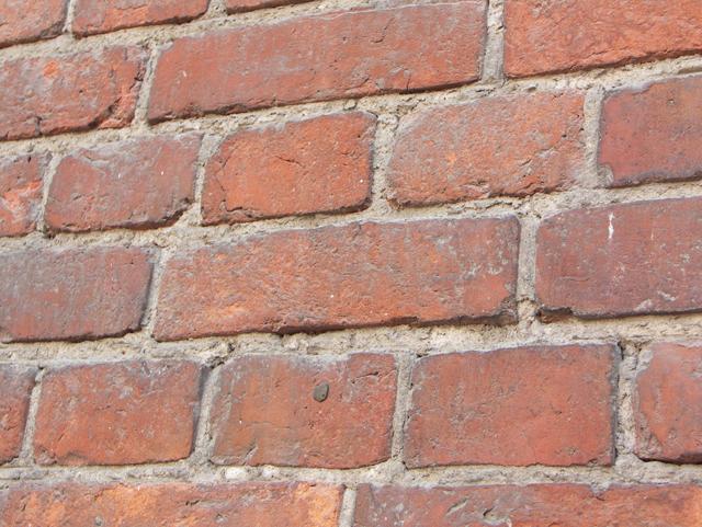 Кладка с замазанным швом. Фактуры кирпичных стен, фотографии. Архитектор Антон Булатецкий