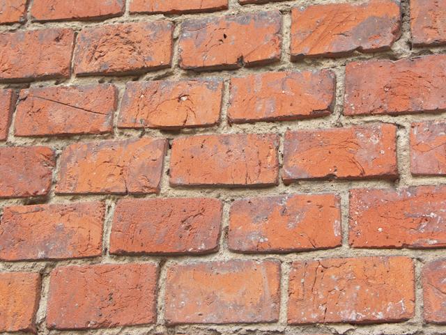 Шлифованная кирпичная стена. Фактуры кирпичных стен, фотографии. Архитектор Антон Булатецкий