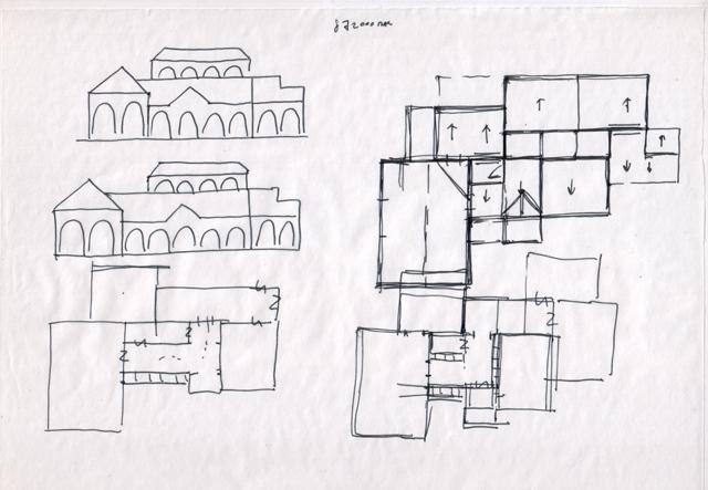 Схемы фасадов и планов