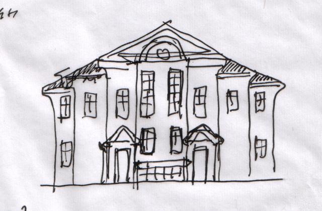 Схема фасада для