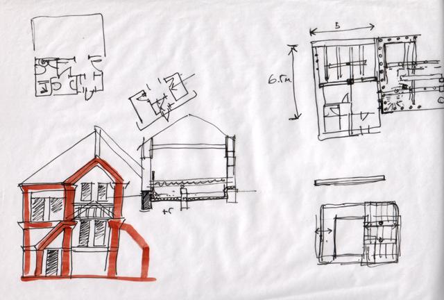 Схема фасада дома и прочие
