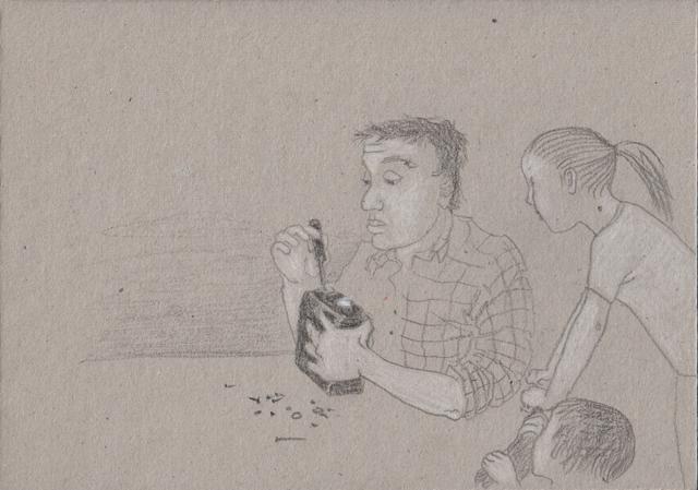 Транзистор. Альбом рисунков 18. Художник Алиса Зражевская