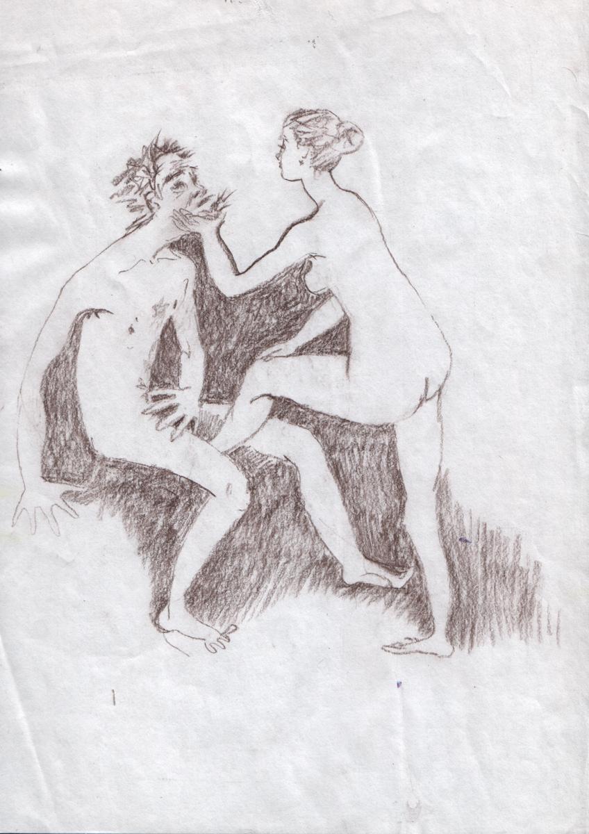 Рисунок эротика карандашом 7 фотография