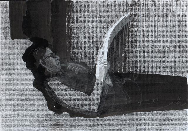 Пресса. Альбом рисунков. Художник Алиса Зражевская