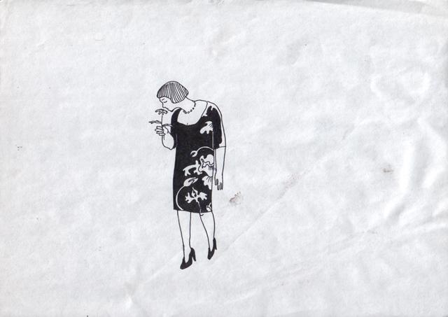 Цветочки. Альбом рисунков. Художник Алиса Зражевская