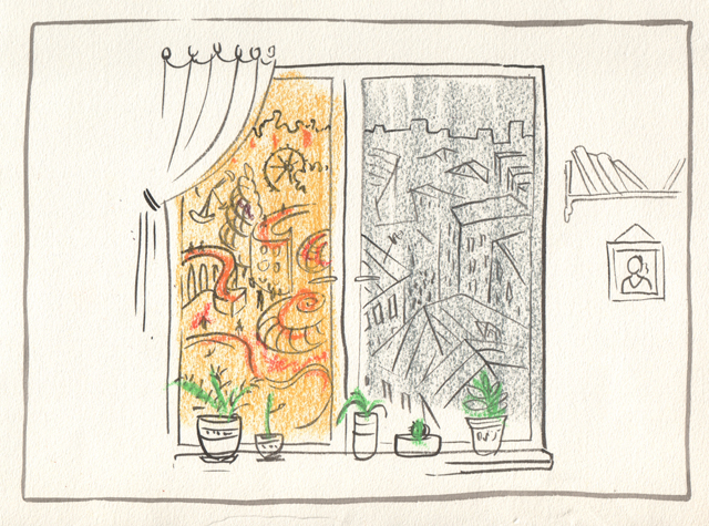 рисунок окно: