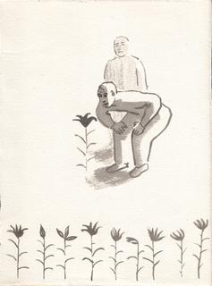 Цветы, Альбом рисунков номер 4. Художник Алиса Зражевская
