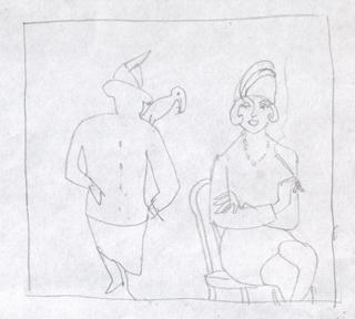Просто так, Альбом рисунков: Одиночества полные штаны. Художник Алиса Зражевская