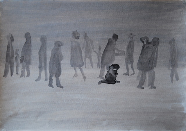 Абсолютное одиночество. Альбом рисунков: Одиночества полные штаны. Художник Алиса Зражевская