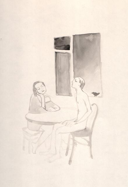 Соловьиные трели. Альбом рисунков: Одиночества полные штаны. Художник Алиса Зражевская