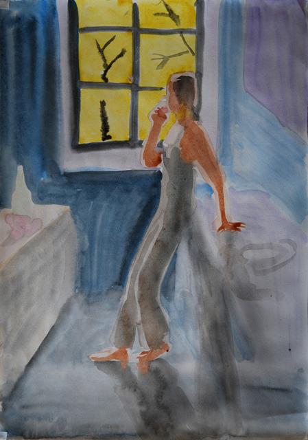 Осень N2. Альбом рисунков: Одиночества полные штаны. Художник Алиса Зражевская