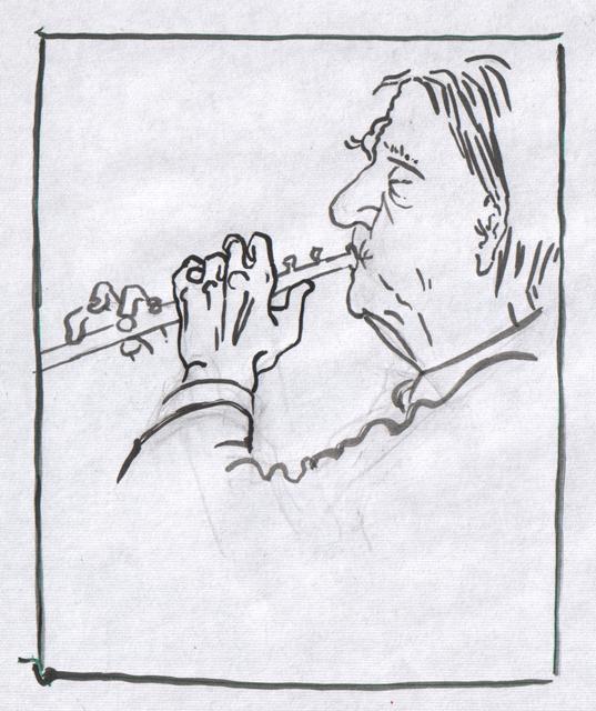 Волшебная флейта. Альбом рисунков номер 7. Художник Алиса Зражевская