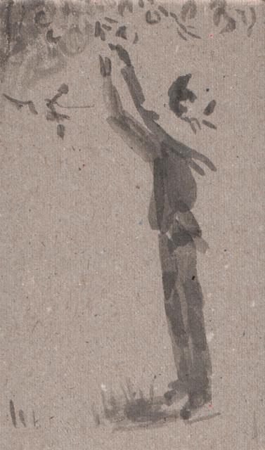 Яблоко. Альбом рисунков номер 7. Художник Алиса Зражевская
