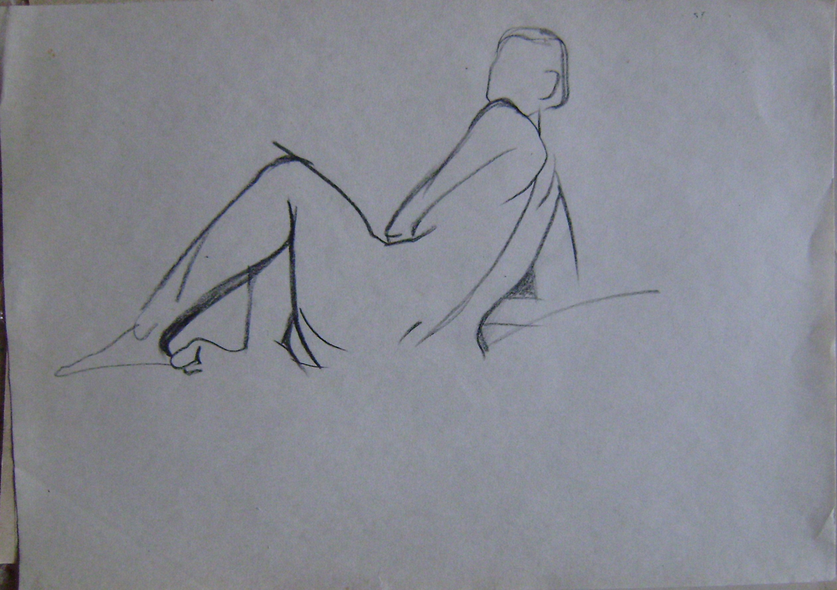 как делать наброски к рисунку